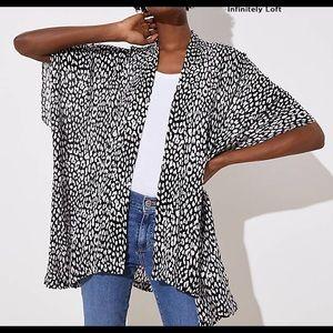 Loft Leopard Kimono